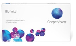 Biofinity Disposable Monthly Contact Lenses