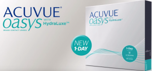 ACUVUE® OASYS® 1-Day Daily Contact Lenses with HydraLuxe